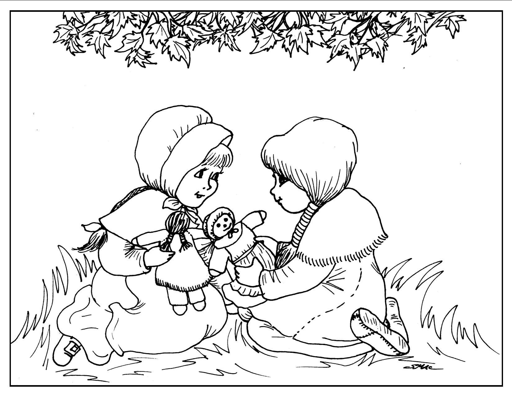 S macs coloring pages for all ages com - Thanksgiving Coloring Pages S Mac S Place To Be