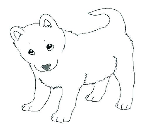 - Husky Coloring Pages At GetDrawings Free Download - Coloring Home