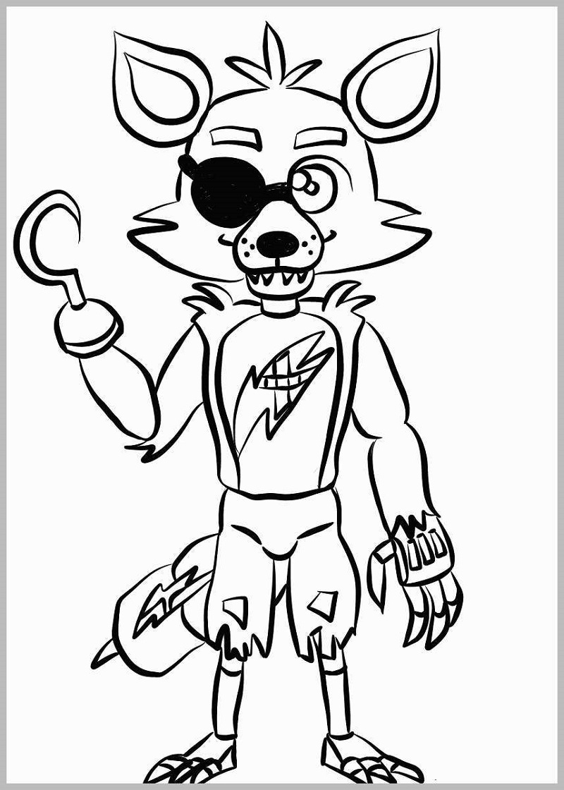 Five Nights at Freddy's Coloring Pages to Print | Printable ...
