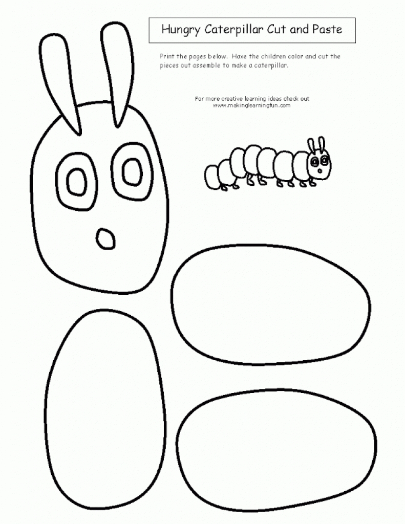 Hungry Caterpillar Coloring Pages intended for Household - Cool ...