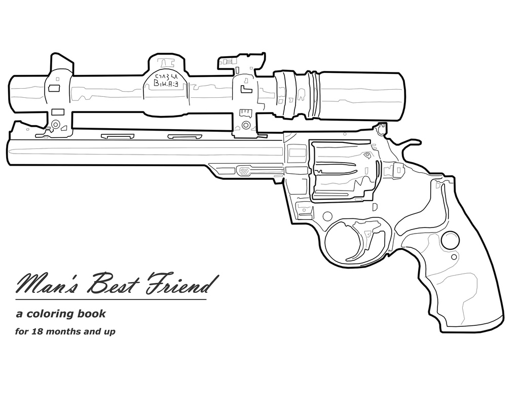Nerf Gun Coloring Pages Coloring Home Gun Coloring Pages