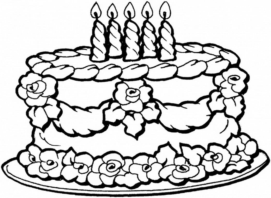 Happy Birthday Mom Coloring Pages - GetColoringPages.com | 764x1048