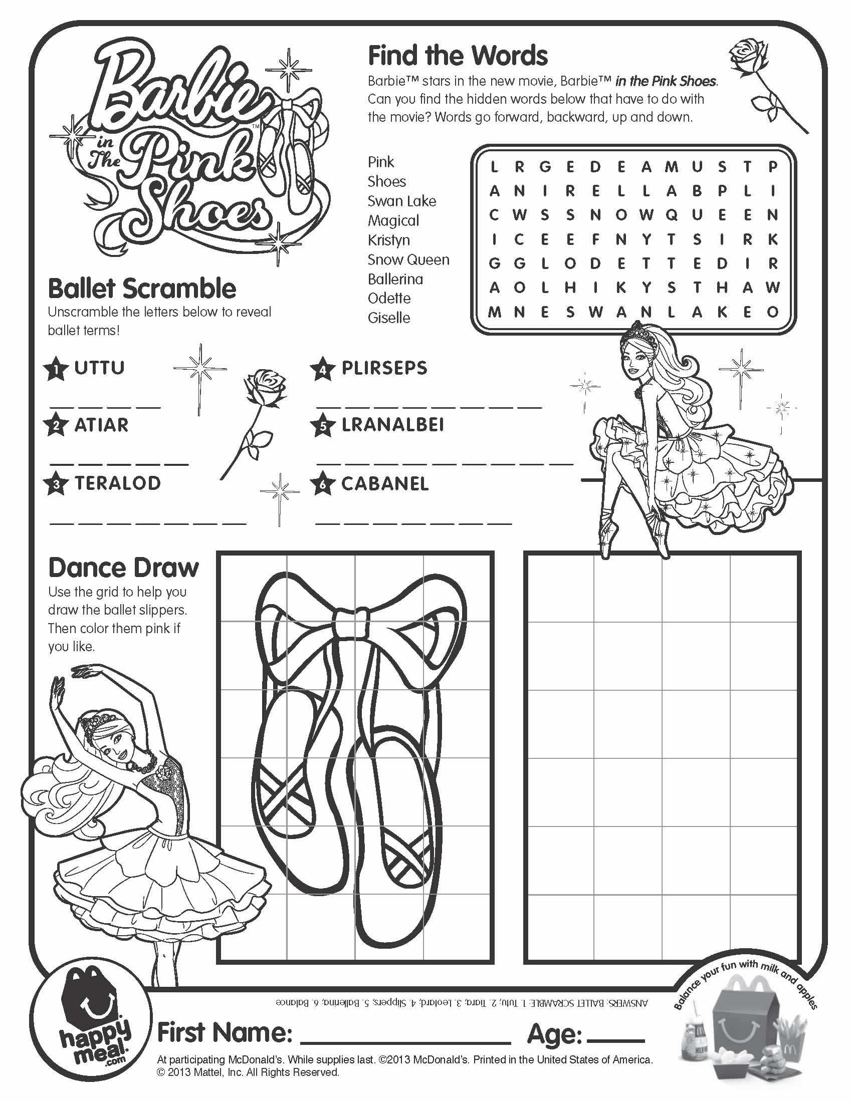 barbie high heels coloring pages - photo#29
