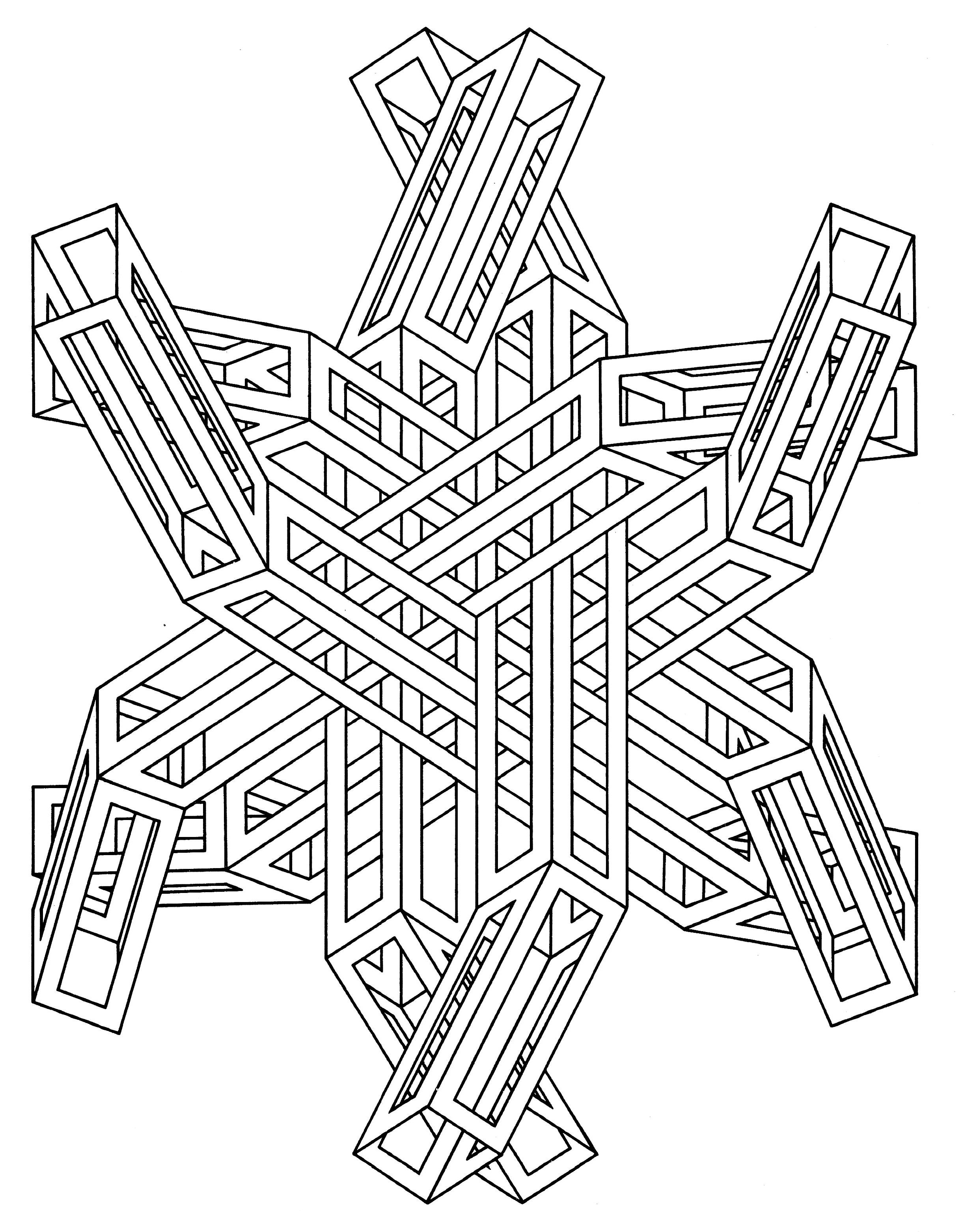 Op Art Coloring Pages Coloring Home Op Coloring Pages
