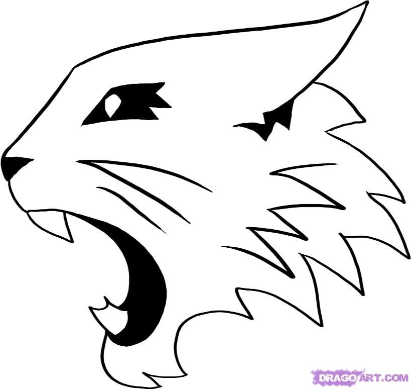 kentucky wildcat logo coloring pages - photo#12