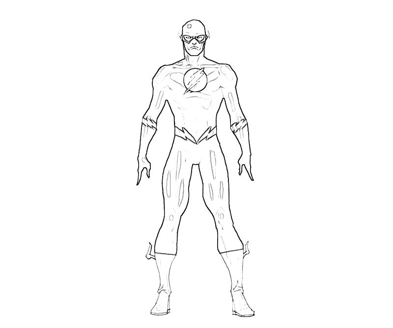 Flash Coloring Pages Coloring