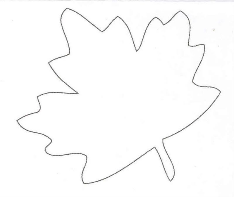 Template | Oak Leaves, Leaf ...