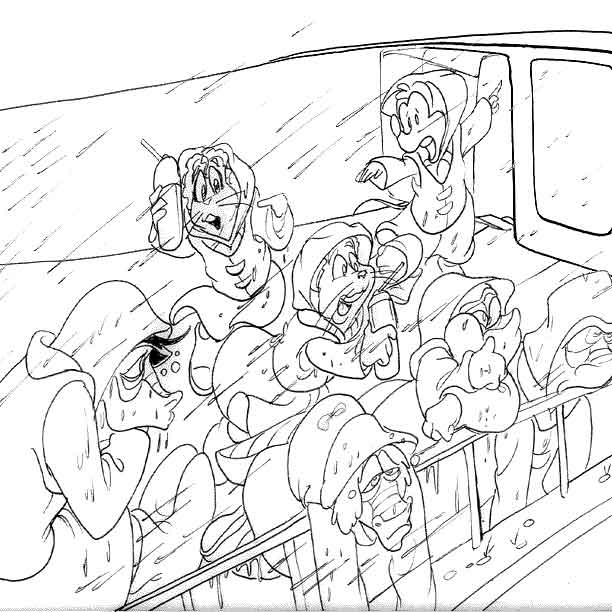 danger rangers coloring pages - photo#8