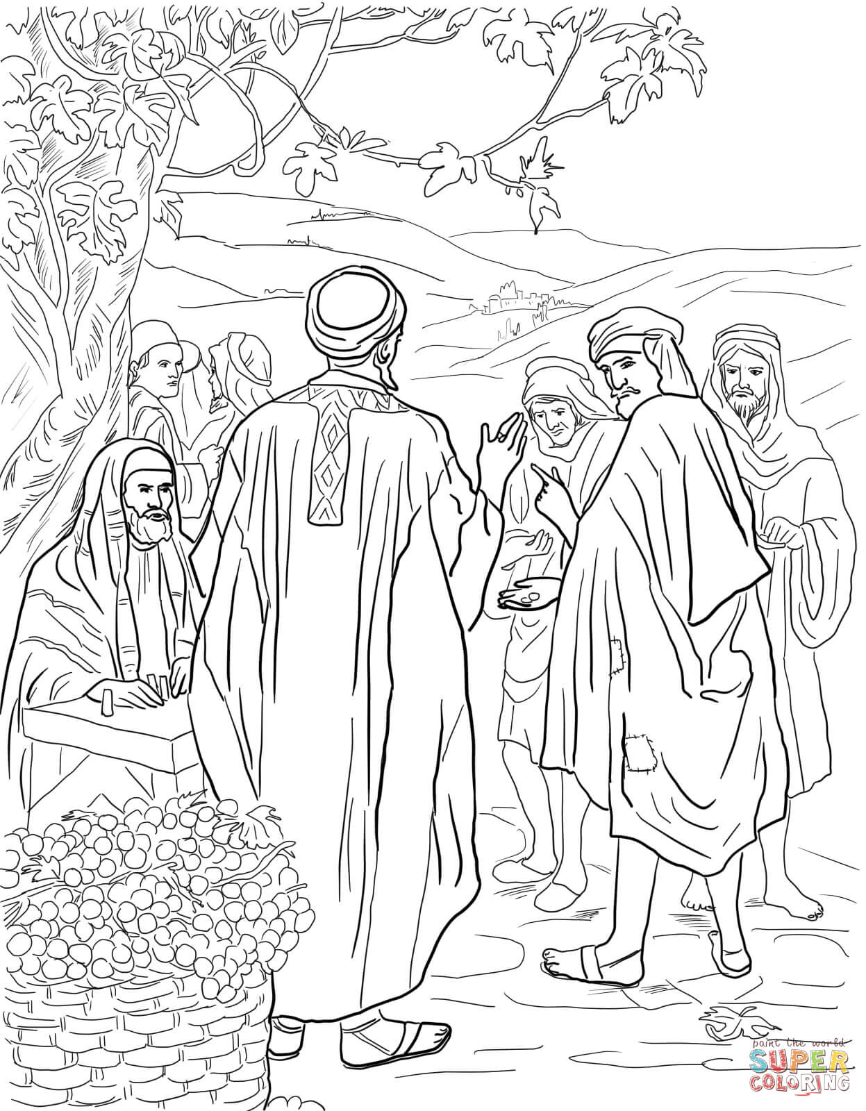 Prodigal Son Coloring Pages Preschool
