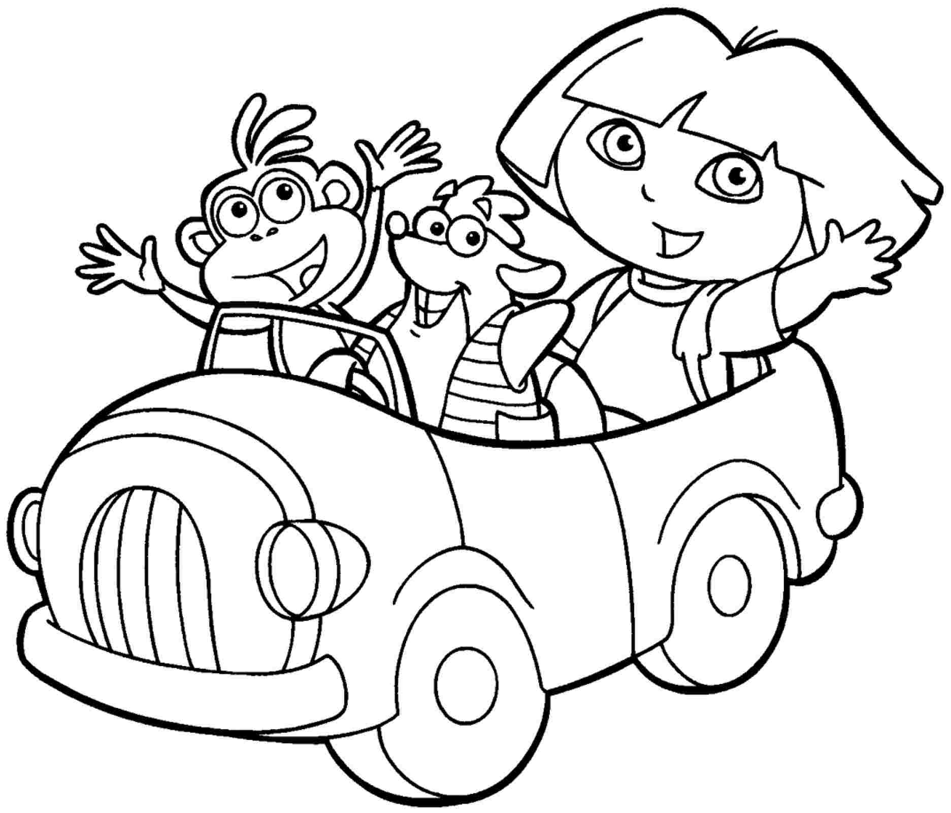 9 Pics of Dora And Friends Mermaid Coloring Pages - Dora and ...
