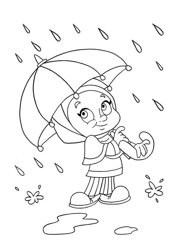 raindrop coloring page - coloring pages of raindrops coloring home