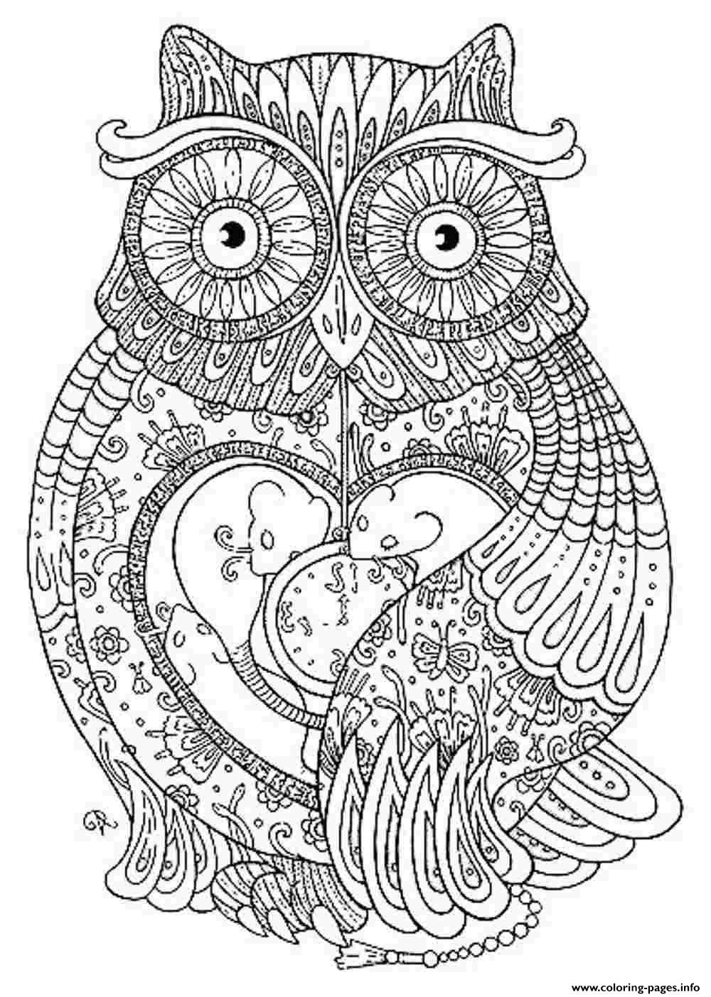 Animal For Adults - Coloring Pages for Kids and for Adults