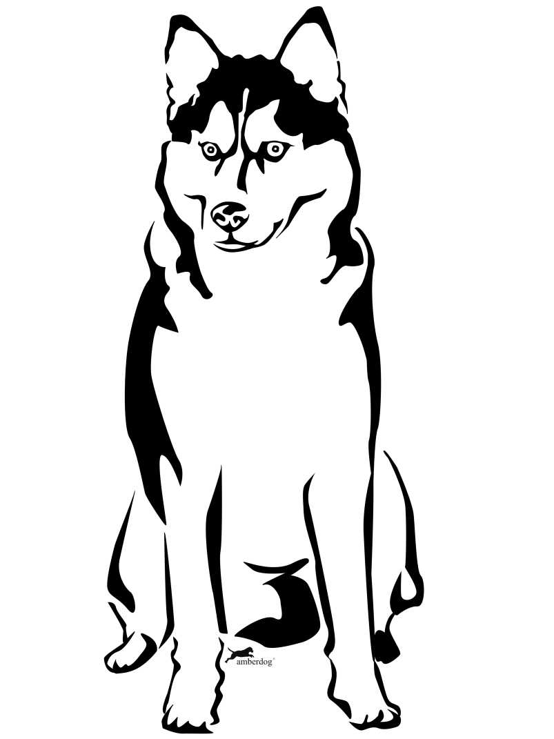 Husky Coloring Pages Coloring Home