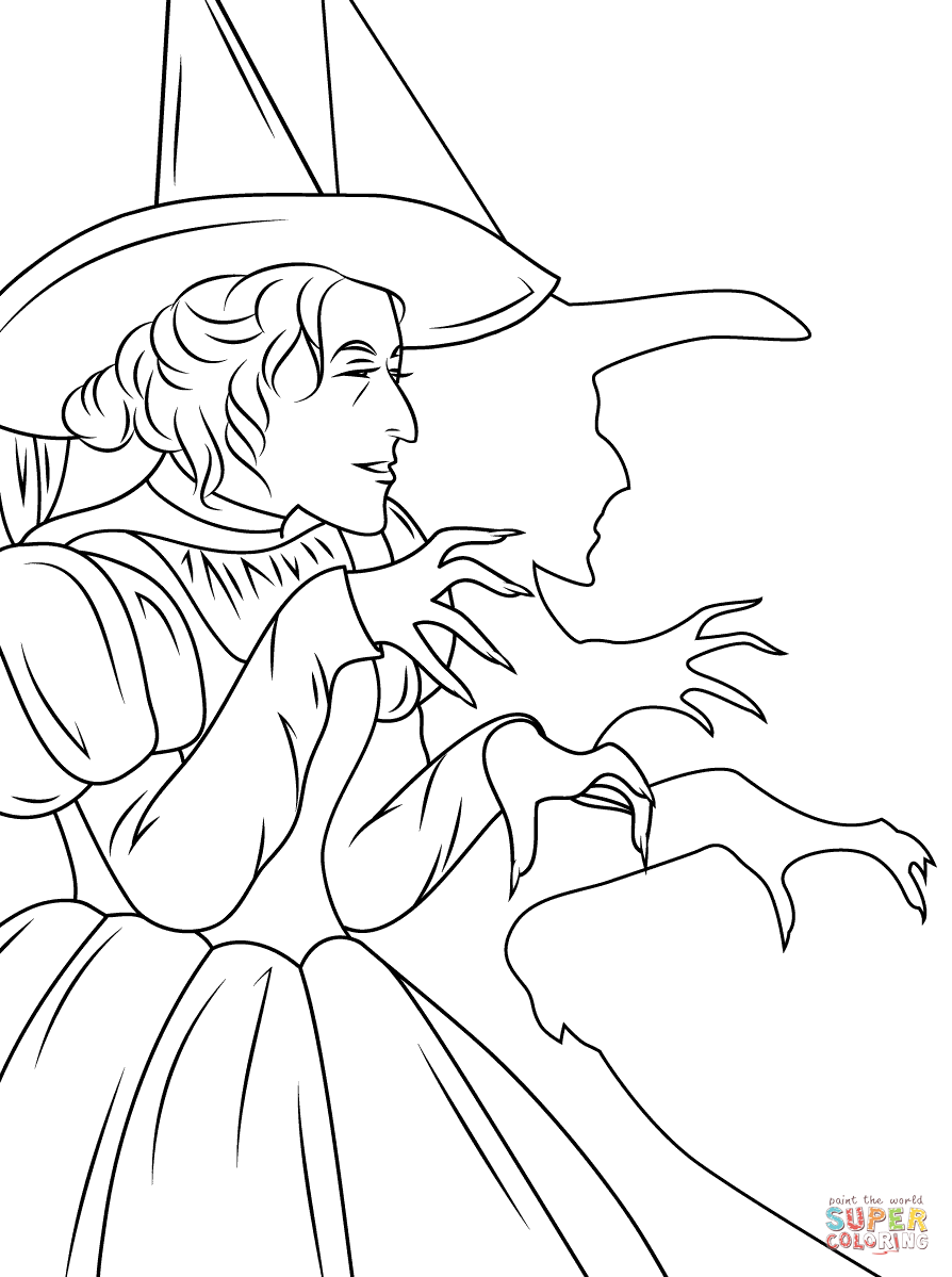 Oz The Great And Powerful Coloring Pages - Coloring Home