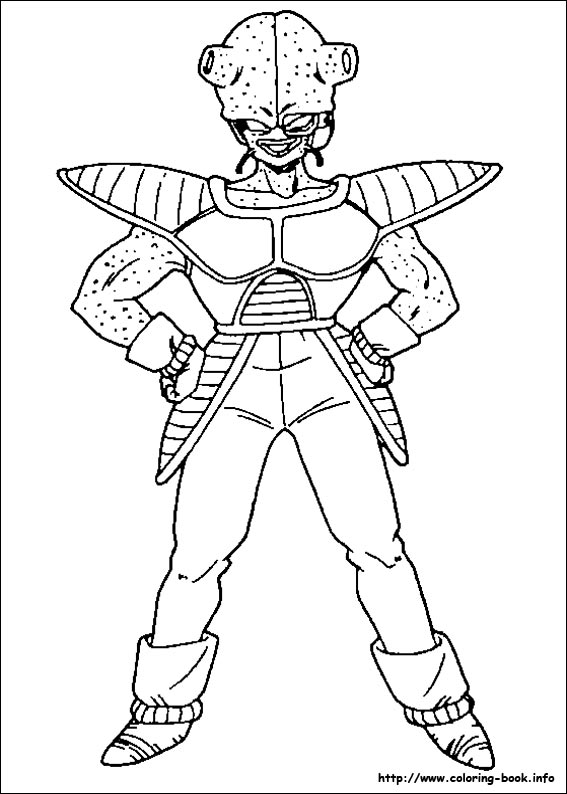 Dragon Ball Z Coloring Pages On Coloring Book