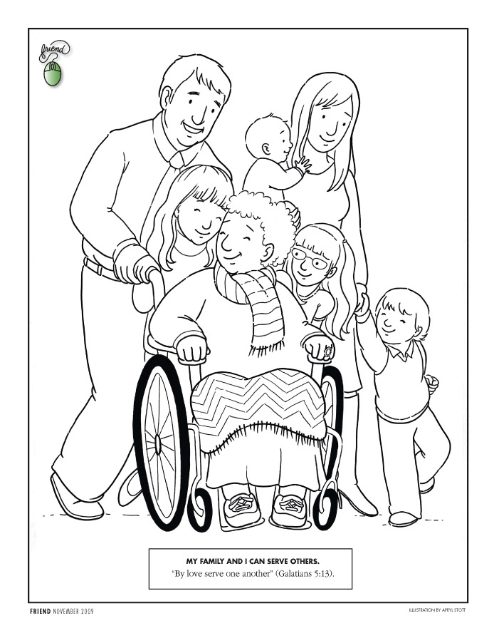 Love Each Other Coloring Page: Love One Another Coloring Pages