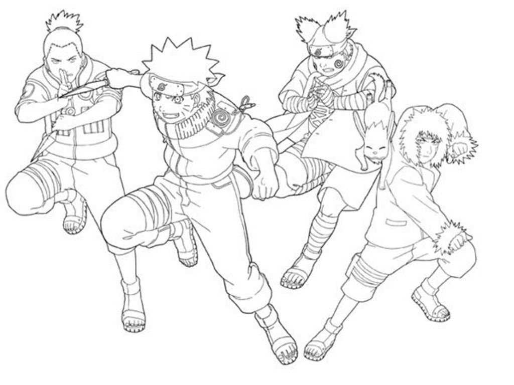 Naruto Coloring Pages Pdf : Naruto coloring pages pdf home