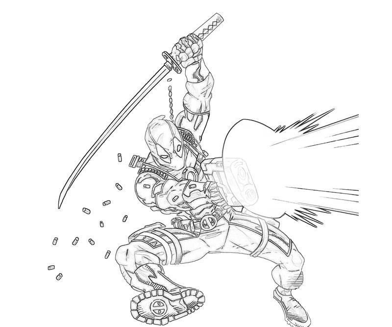 Deadpool Coloring Pages Printable Az Coloring Pages Coloring Pages Of Deadpool