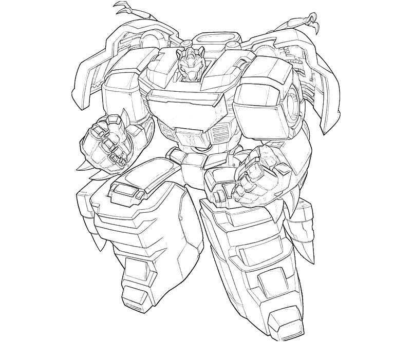 Transformers coloring pages transformers fall of cybertron for Grimlock coloring page