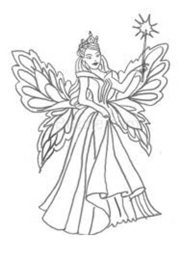 Www Fairy Coloring Pages Com