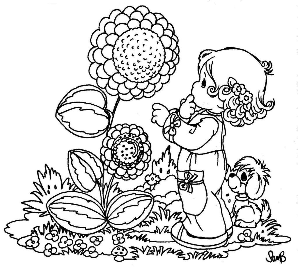 Happy Spring Coloring Sheets | Coloring Online