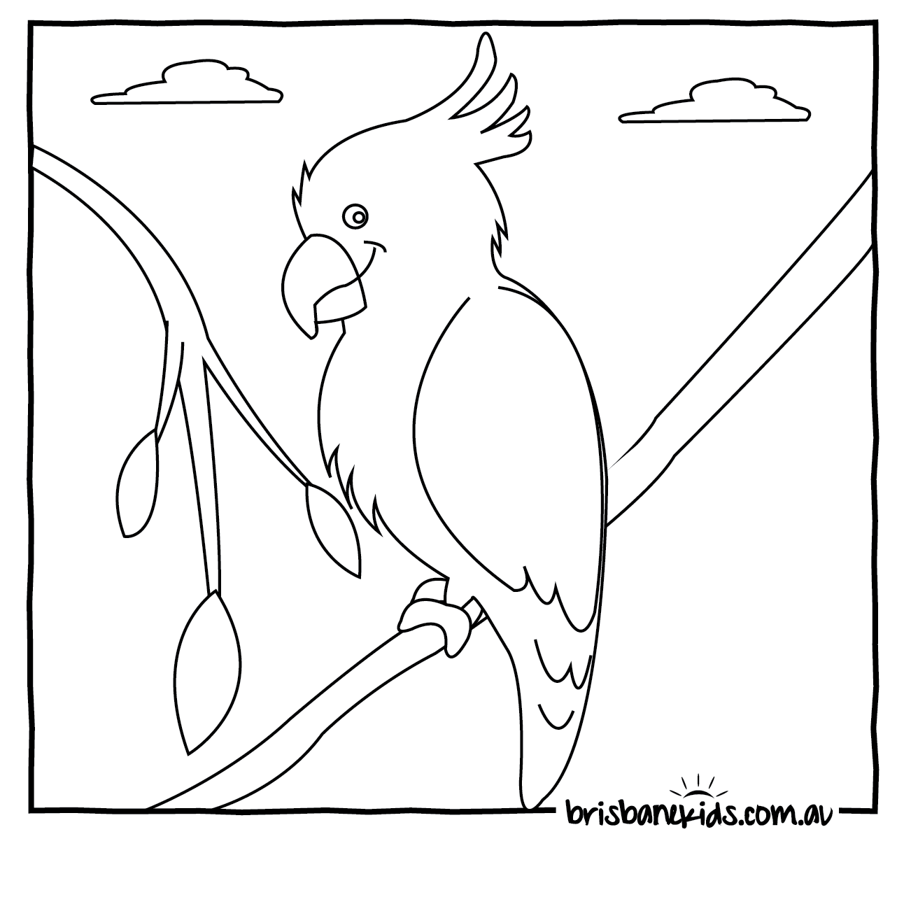 Australia coloring page coloring home for Australian animal coloring pages