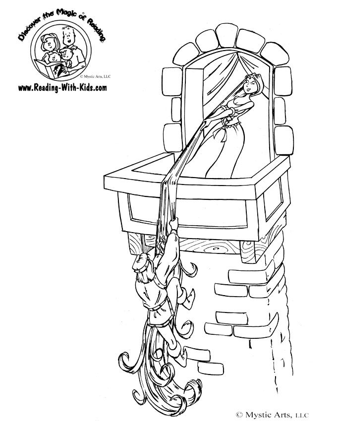 Coloring Pages Fairy Tales Coloring