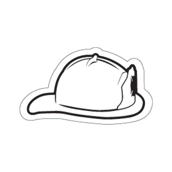 coloring book pages fireman hat - photo#7