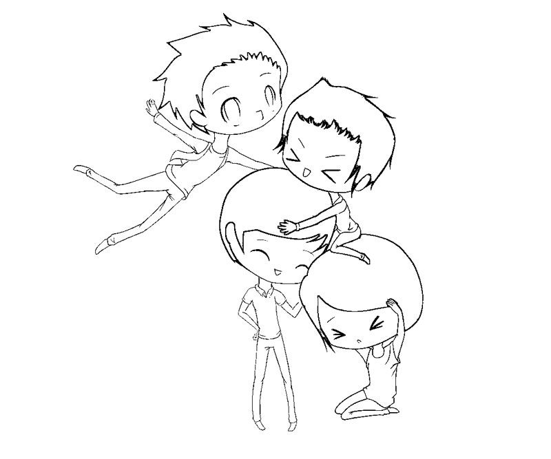 big time rush coloring pages - photo#15