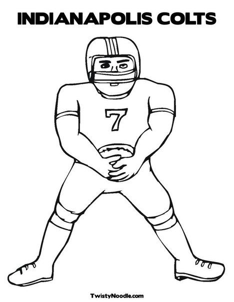 Indianapolis Colts Coloring Pages - Coloring Home