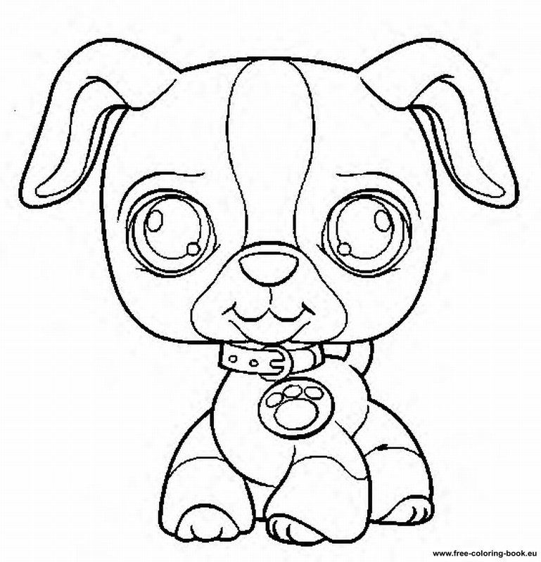 8 pics of lps cat coloring pages littlest pet shop coloring - Lps Coloring Book