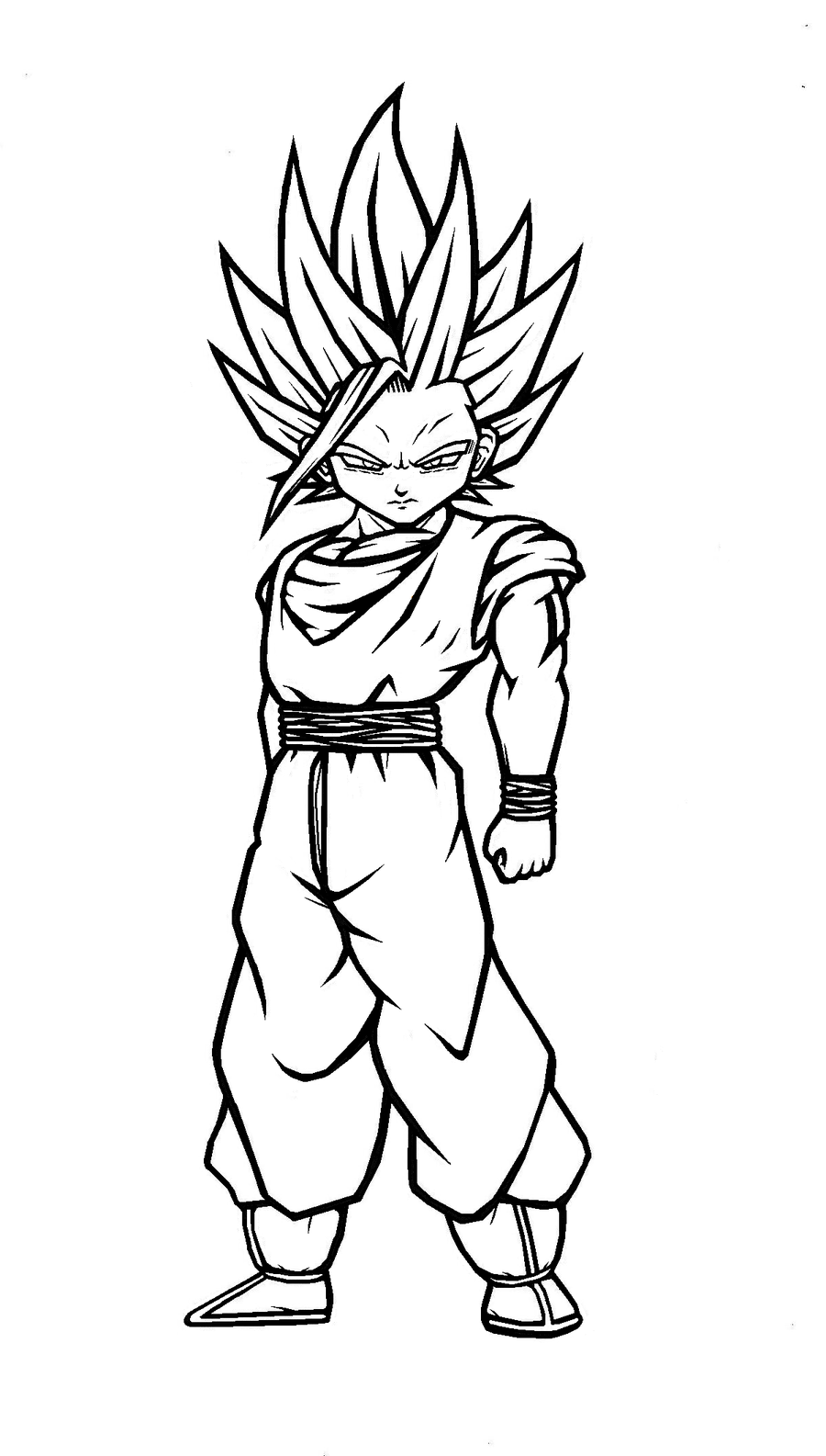 dragon ball z gohan coloring pages – asaderocapachos.co