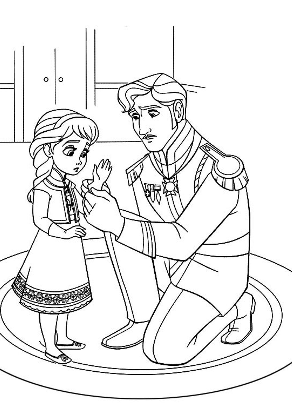 Frozen Coloring Pages A Z Colouring Coloring Home