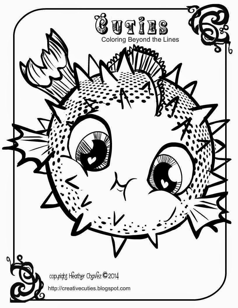 Cuties Coloring Pages Printable