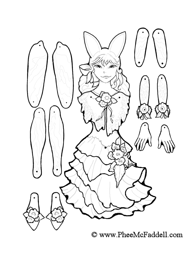 puppets coloring pages - photo#26
