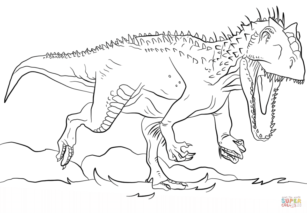 jurassic park free coloring pages - photo#3