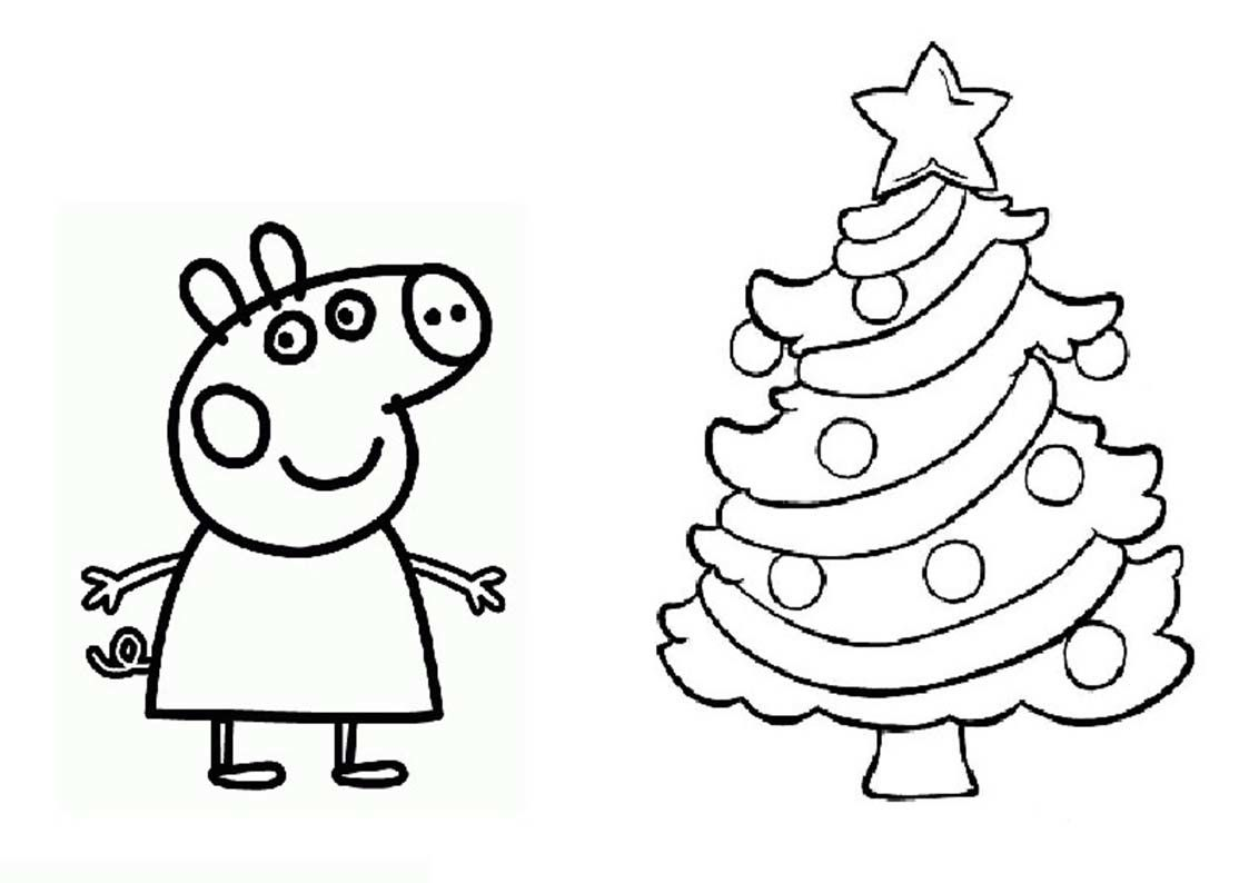 Peppa pig coloring pages halloween coloring home for Peppa pig coloring pages christmas