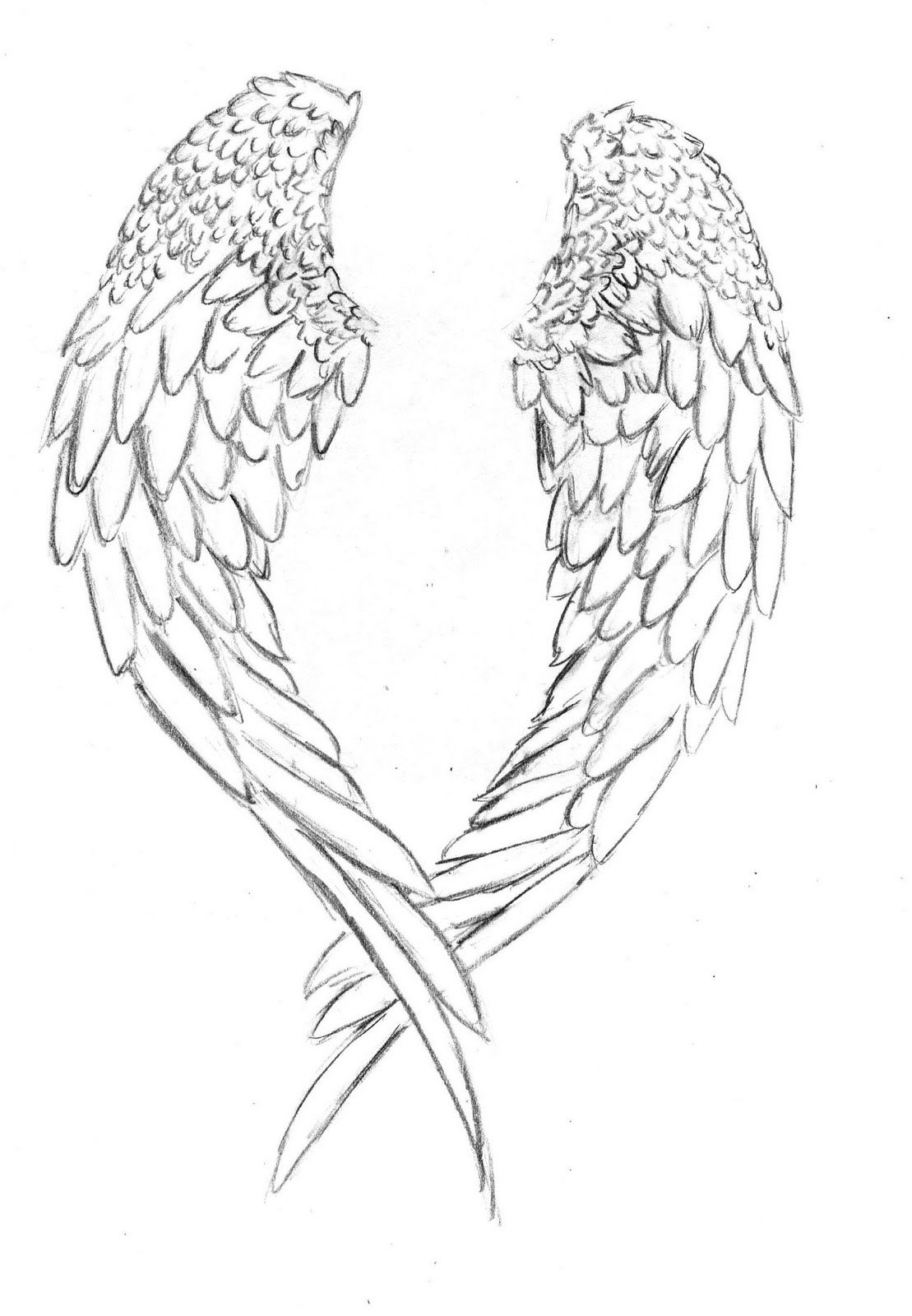 Uncategorized Angel Wings Coloring Pages angel wing coloring page home 12 pics of cross with wings pages wings