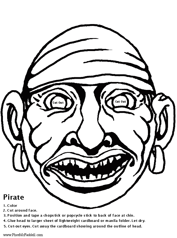 Halloween mask coloring pages ~ Scary Halloween Mask Coloring Pages Sketch Coloring Page