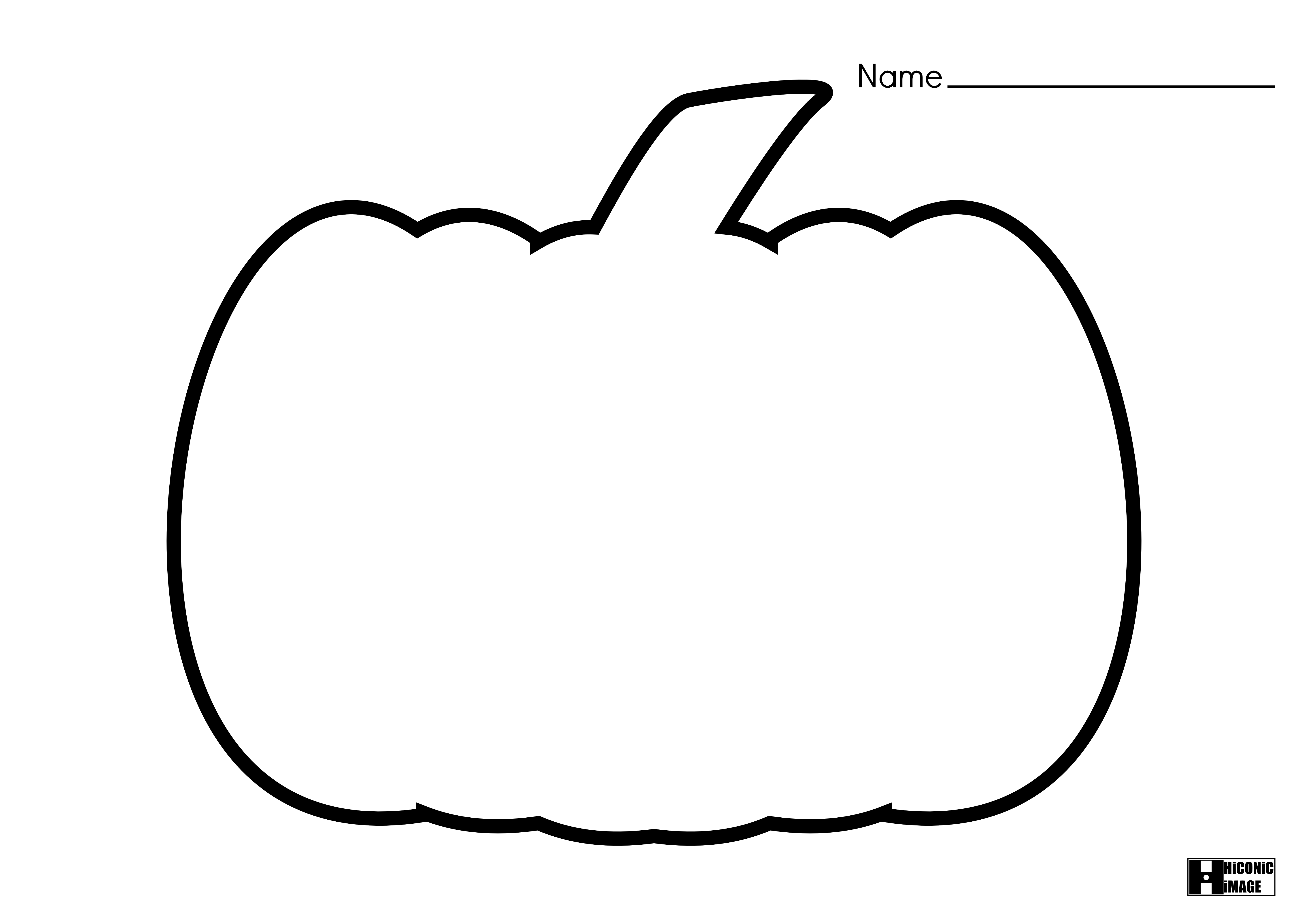 jackolantern coloring pages coloring home Blank Pumpkin Template  Blank Pumpkin Coloring Sheet