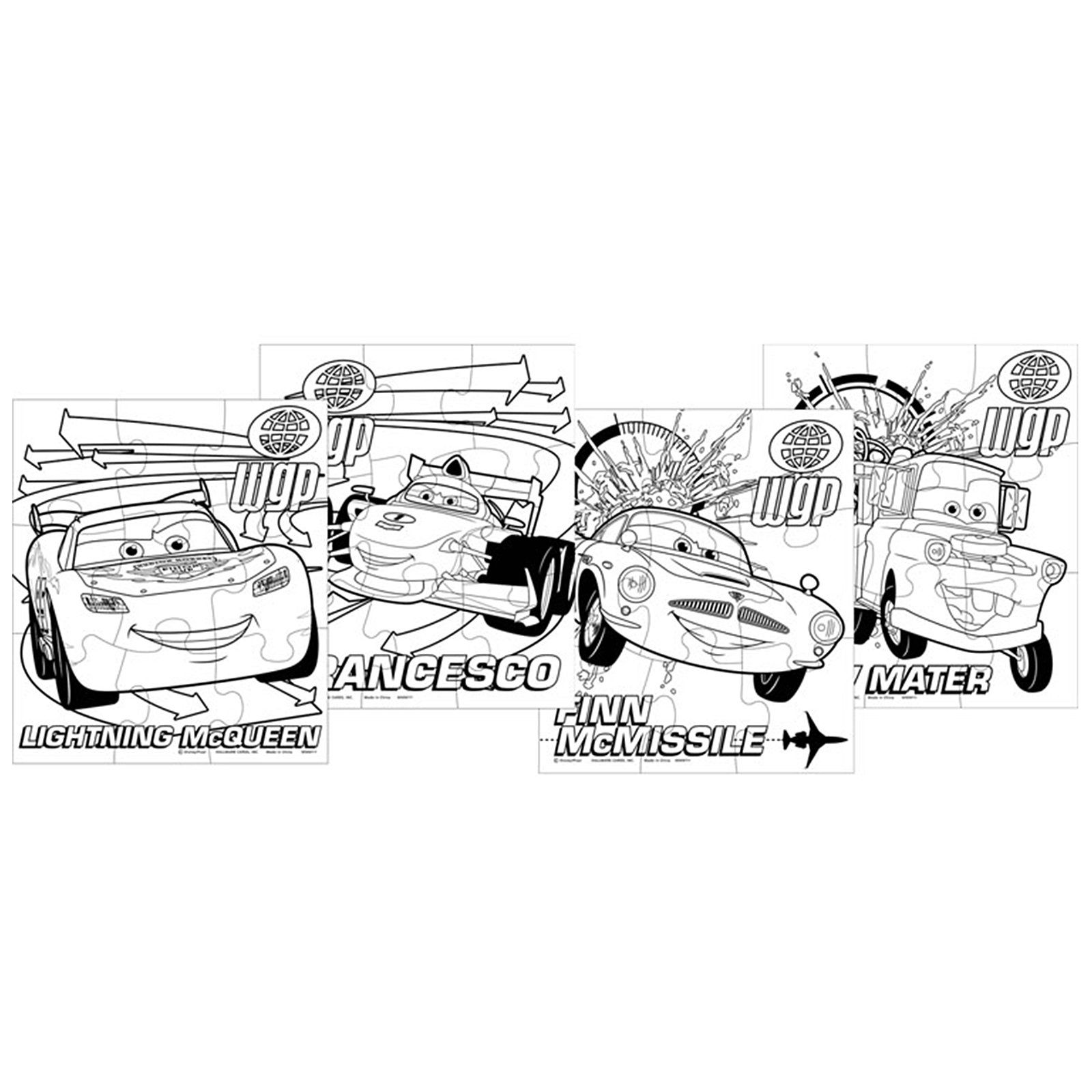 Coloring Pages Disney Cars 2 - Coloring