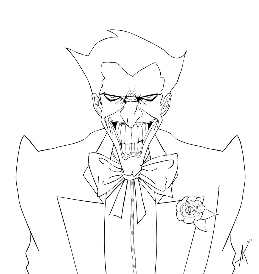Great The Joker Coloring Pages 18 On Picture Coloring Page With ...