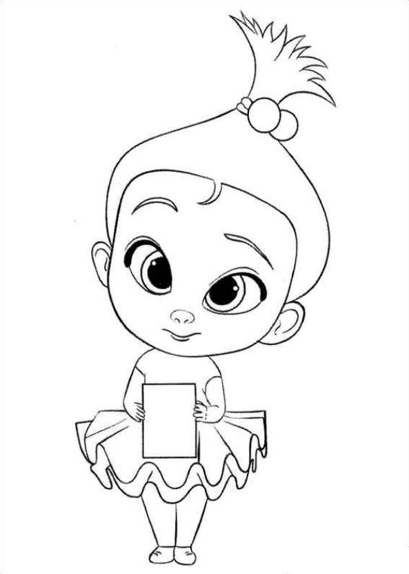 Boss Baby Coloring Pages Lovely the Boss Baby Coloring Page ...