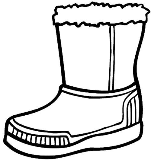 Coloring, Coloring pages and Boots on Pinterest