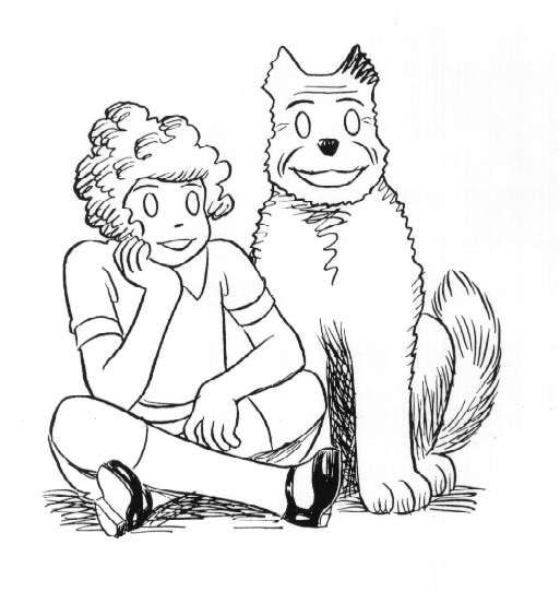 coloring pages little orphan annie - photo#3