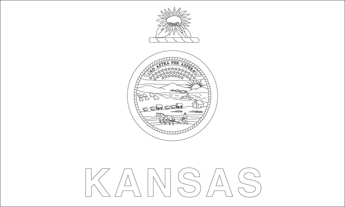 k state coloring pages - photo #32