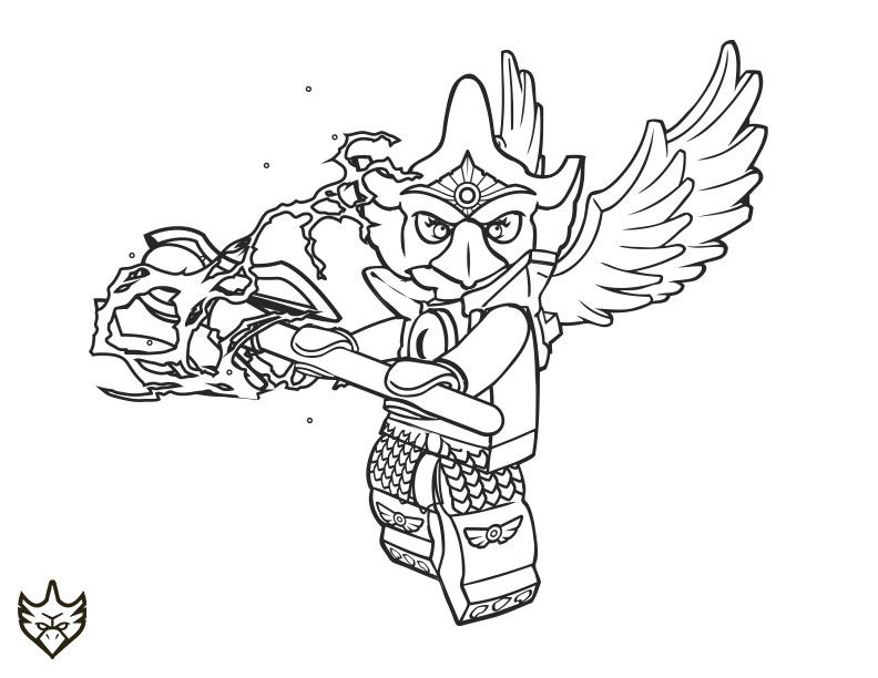 the gallery for gt lego chima gorilla coloring pages