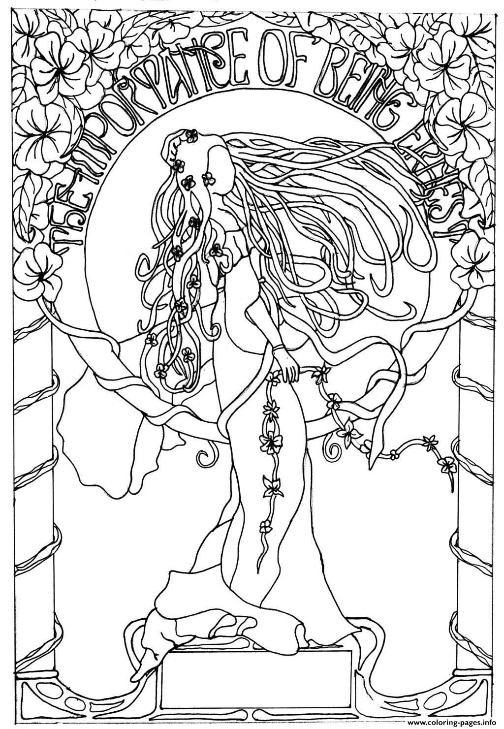 free artist coloring pages - photo#6