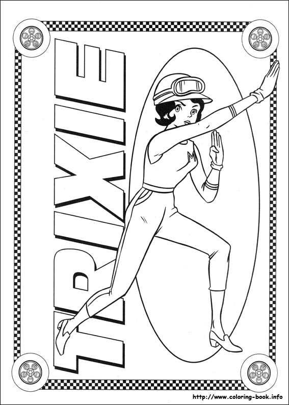coloring pages speed racer - photo#15