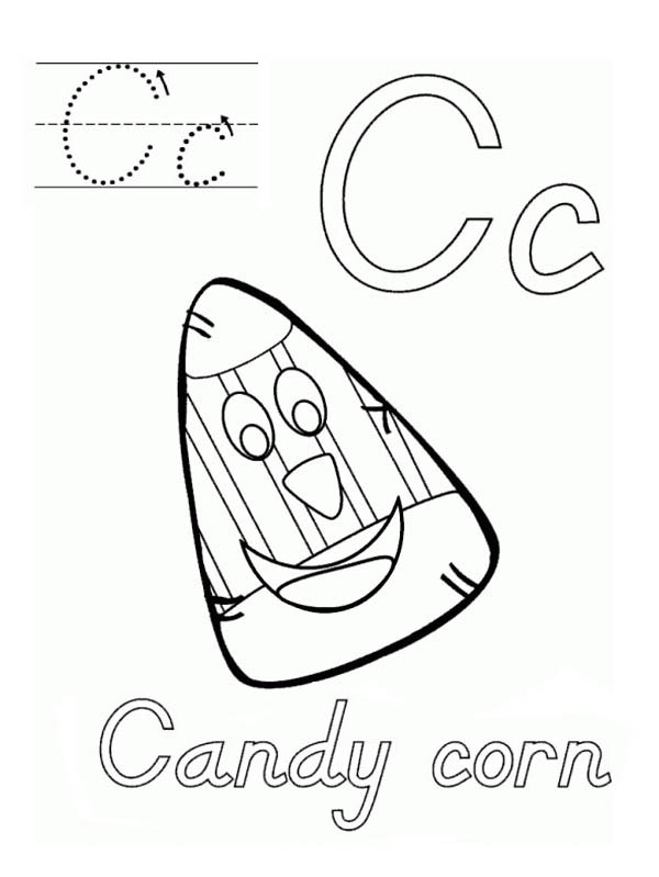 candy corn coloring pages - photo#25